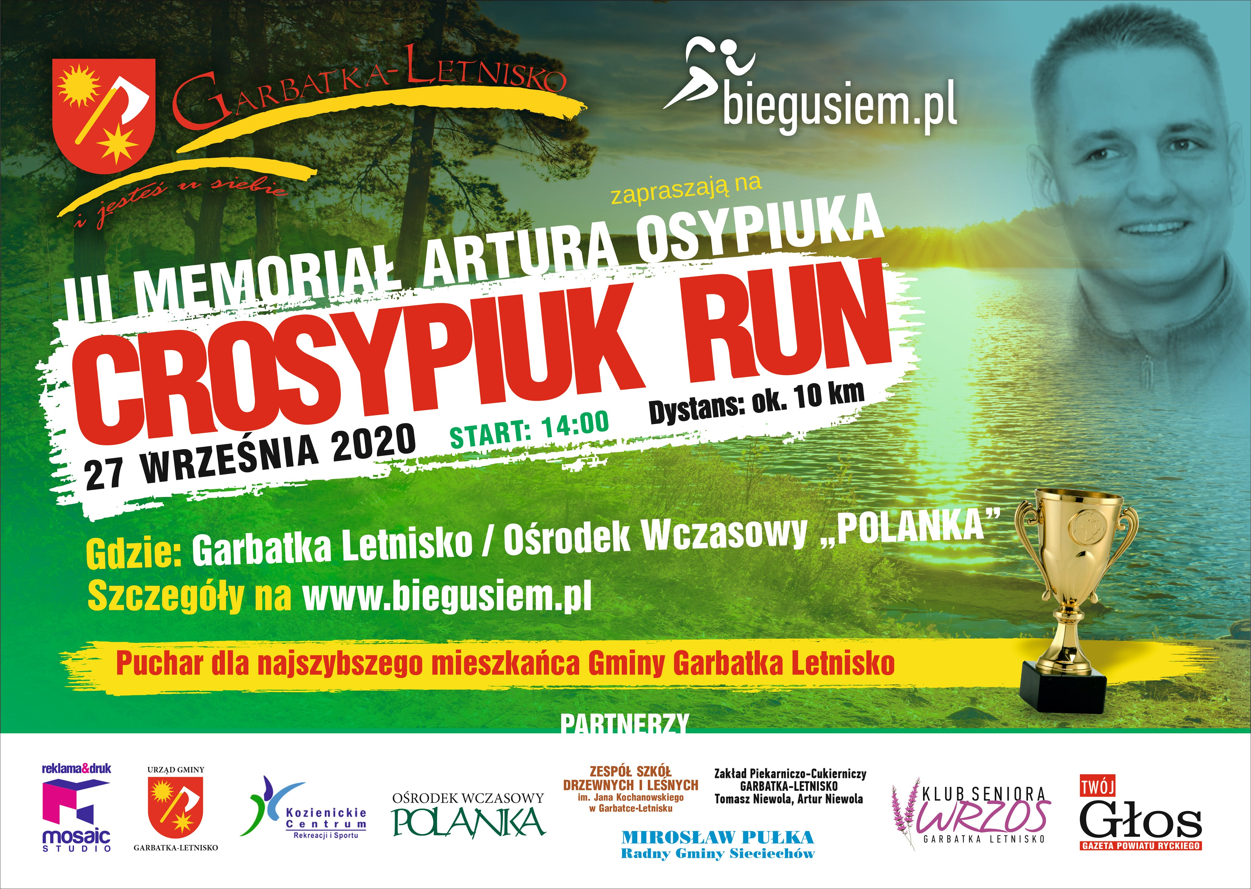 III Crosypiuk Run 2020 plakat